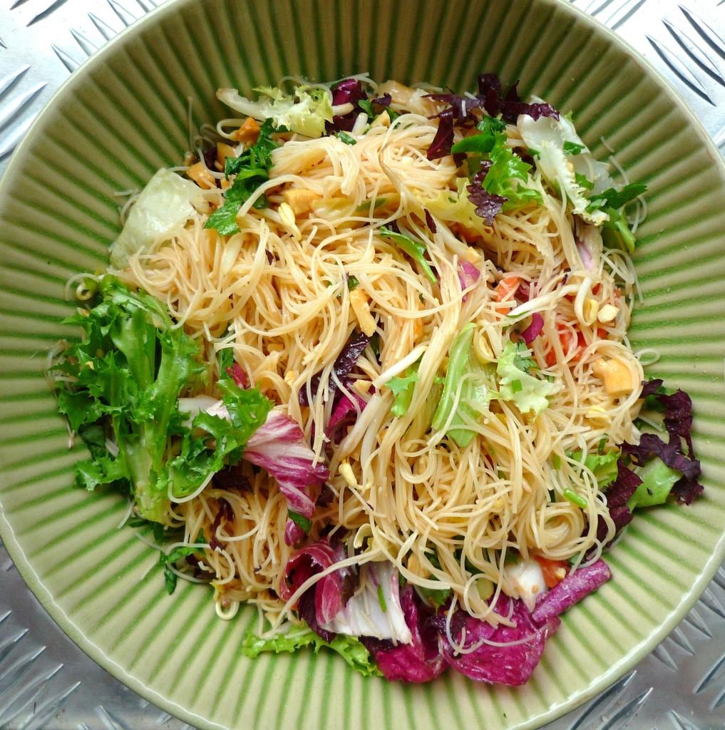 salade asiatique détox