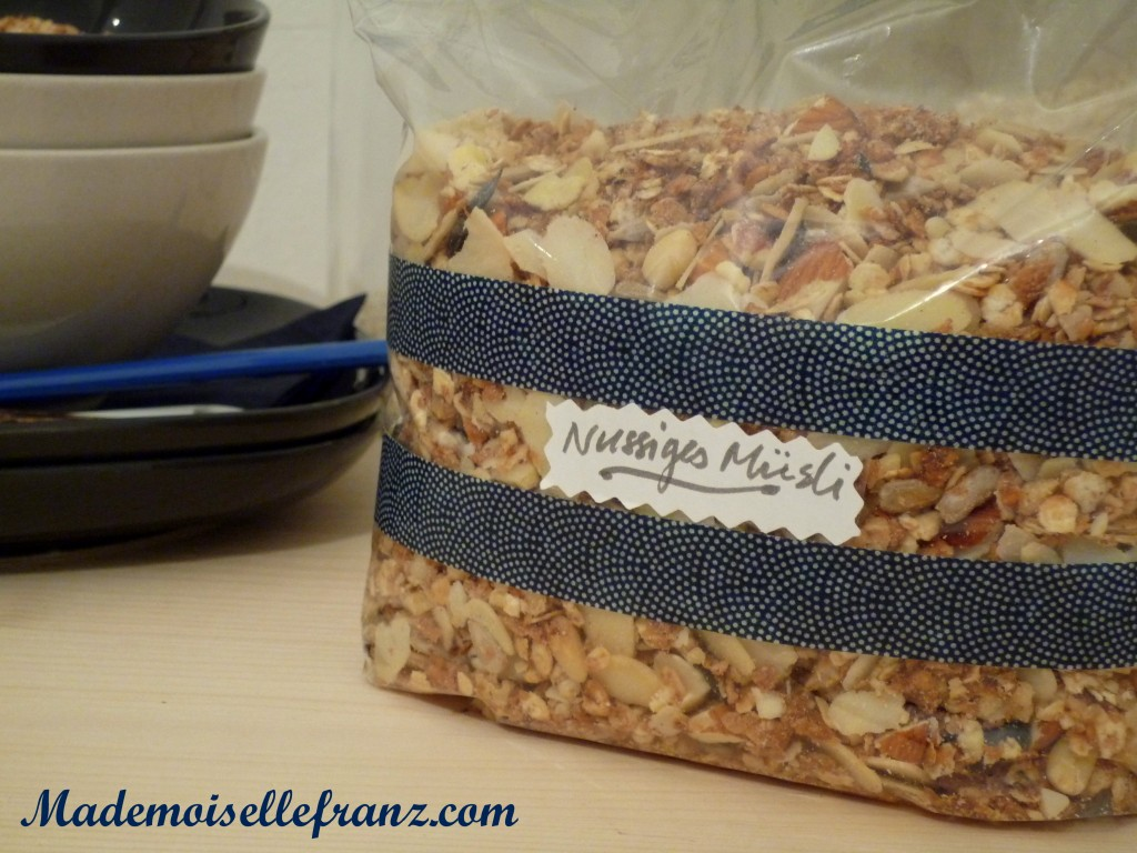 Le muesli des gourmands