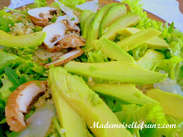 Petite soeur de la salade au vert