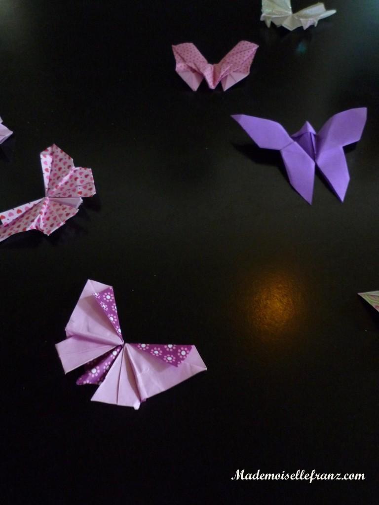 Papillons du bar à gâteaux