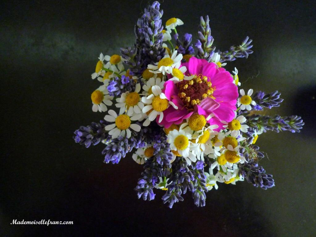 un peu de simplicité dans un vase