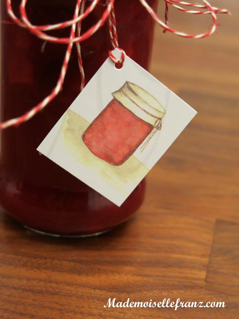 confiture de cranberries