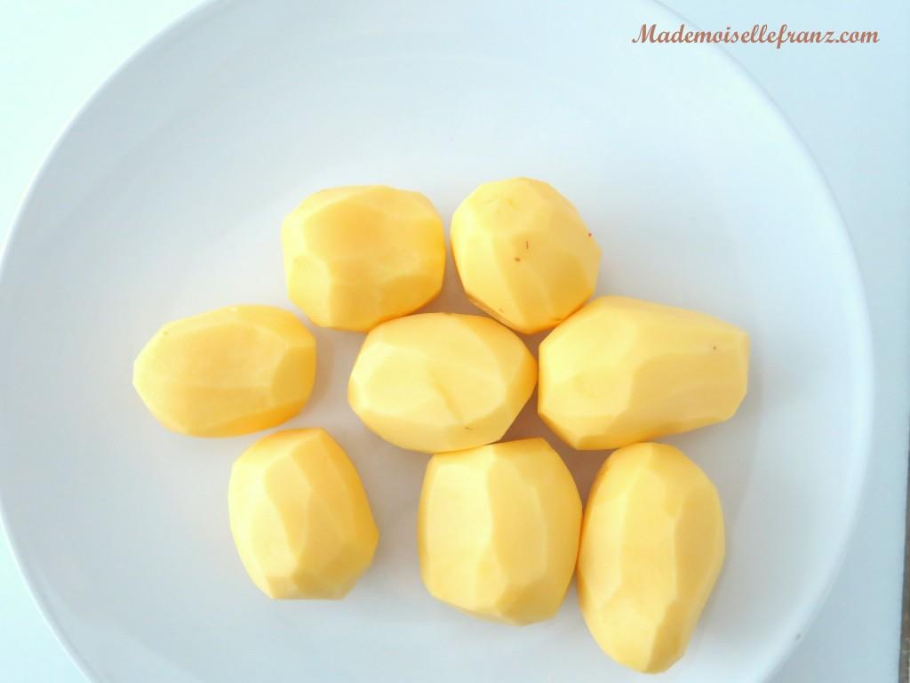 Lammeintopf mit Kartoffeln und Fisolen