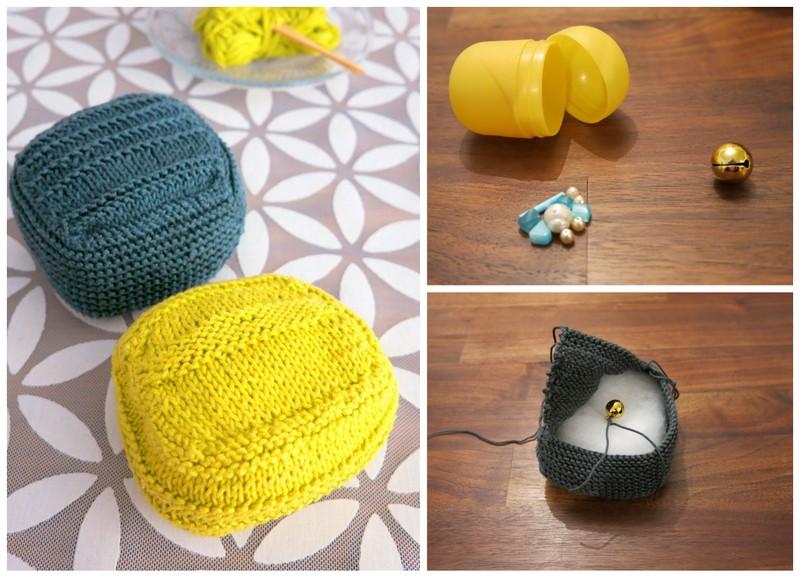 DIY doudou tricoté retouchées